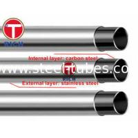 China GB/T 18704 Stainless Steel pipe Clad Steel Pipe 302 304 12Cr17Mn6Ni5N on sale
