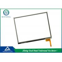 Touch Screen Panel Cover Glass With Four Wire , Glass Capacitive Touch Screen Manufactures