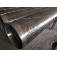 273mm Diameter Deep Well Water Well Screen 3 Meters Length With Welded Rings Manufactures