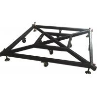 1.8m*1.8m Large Lighting Truss Accessories Black Truss Basement For Speaker Truss Manufactures