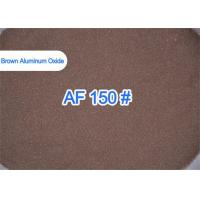 China Brown Alumina Grit Blasting High Purity , Molds Blasting AF 120# Aluminum Oxide Blast Media  on sale