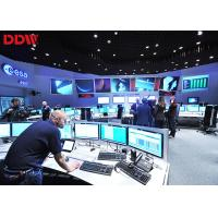 Dynamic Image Interactive CCTV Video Wall Support Matrix Joint Control Manufactures