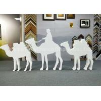 Custom Size Store Window Decorations PVC Camel Sculpture Bespoke Carving Animal Statues Manufactures