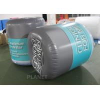 Buy cheap Water Play Equipment 1.5m PVC Custom Logo Inflatable Cylindrical Buoy With D from wholesalers