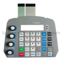 China Digital Dome tactile membrane switch on sale