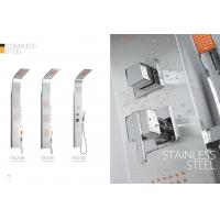 Apartments / Model Rooms Stainless Steel Shower Panel Free Standing Type Manufactures
