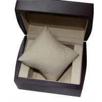 China Promotional Black Keepsake Gift Boxes , Luxury Wood Single Watch Packaging Box on sale
