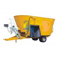 Mobile Feed Mixer Twin Augers Fodder Mixer Machine For Dairy Cows' Farm Manufactures