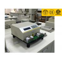 High Performance Digital Ink Rub Tester For Papers 12 Months Warranty Manufactures