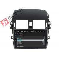 Android Car Navigation & Entertainment System , Toyota Corolla Car Stereo Head Unit Manufactures