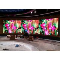 Quality Black SMD 3 in 1 1R1G1B Seamless Indoor Led Video Walls P1.923 for sale
