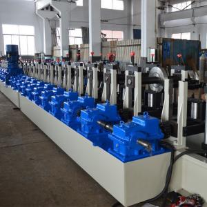 China Metal Rack Roll Forming Machine Shelf Step Beam Making Machine For Storage on sale