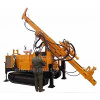 Crawler Hydraulic Reverse Circulation Drilling Rig For Mining Exploration 500M Depth Manufactures