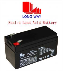 12volt Car,Computer UPS, Electric Power, Lighting, Electric Bicycle VRLA Lead Acid Battery UPS Batteries 12V1.2ah Manufactures