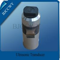 China High Power Ultrasonic Piezoelectric Transducer for Ultrasonic Nonwoven Bag Welding Machine on sale