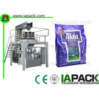 Granule Flat Bottom Bag Premade Pouch Packaging Machine Given Bag Packing Machine With Multi-head Scale Manufactures