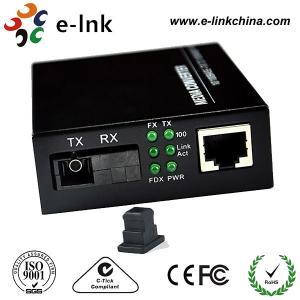 Mc101xl / Mc102xl Fiber Ethernet Media Converter Single Mode 20km Distance , SC BIDI Manufactures