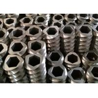 Kneading Block Extruder Screw Elements , Extruder Spare Parts For JSW TEX90