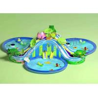 Buy cheap Funny Large Inflatable Water Parks , Children Floating Playgrounds EN71-2-3 Certificate from wholesalers