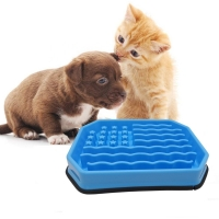 China Dog cat Slow feeder Bowl Stop Bloat Pet slow eating Dog Bowl Cat Anti-Choke non-slip Fun Feeding pet bowl on sale