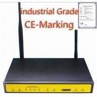 F3433P Wireless Industrial 3G WIFI Router For IP Camera,Video Surveillance,ATM,POS,Vehicle Wireless Manufactures