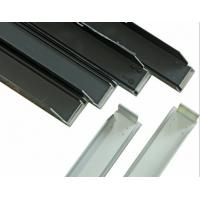 Silvery Alloy Mounting Aluminum Solar Panel Frame High Accuracy Manufactures