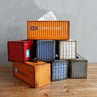 12.3x5.5x5.1 Inch Metal Tissue Box Holder Shipping Container Design Manufactures