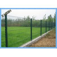 China Powder Coated Wire Mesh Fence Panel Welded Metal Curved for Garden on sale