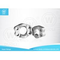 Carbon Steel SAE Split Flange Clamps Hydraulic Pipe Fittings with Zinc Plate Manufactures