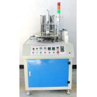 China Fully Automatic Paper Cup Making Machine Square 1-6 Inch Speed 40-50pcs/Min Blue White on sale