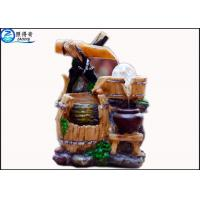 China Rockery Fountain Aquarium Water Home Decoration Crafts Round Lucky Feng Shui With Aqua Model on sale