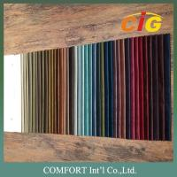 100% Polyester Home Textile Fabric Velvet Plain Pattern And Embossed Pattern Manufactures