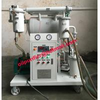Buy cheap Portable Vacuum Insualtion Oil Cleaning Plant, Cable Oil Purifier Machine,Transformer Oil Recycling System factory sale from wholesalers