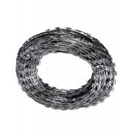 Anti Corrosion Custom Stainless Steel Razor Wire , Security Fence Razor Wire Manufactures