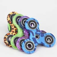 Fashionable Stress Relief Fidget Spinner With Ceramic Bearing , Camouflage Series Manufactures