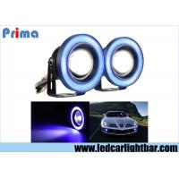 3.5 Inch Projector Led Fog Lights , Halo Angel Eye Rings Car Fog Lamps Manufactures