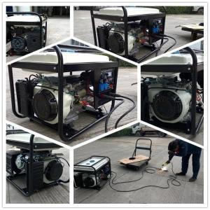 China 200Amp Engine Driven Welding Machine , Diesel Generator Welder 7000 Watt Silent Start on sale