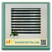 China Decorating Home Textile Fabric Polyester Zebra Window Curtain on sale