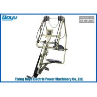 Rated load 1kn Transmission Line Stringing Tools Bicycles For 3 bundle Manufactures