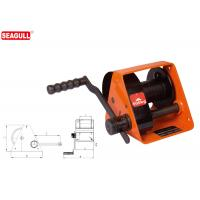 HWG Type Portable Hand Lifting Winch Heavy Duty With Handle Adjustment Manufactures