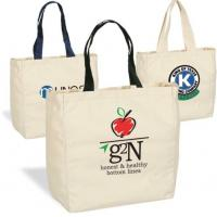 Eco Friendly Newest Summer Custom Logo Cotton Rope Handle beach tote bag,reusable short handle natural color calico cott Manufactures