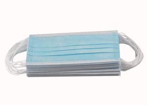 CE FDA 3ply Non Woven Triple Layer Earloop Face Mask Manufactures