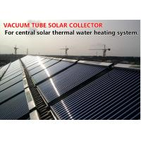 China Solar Thermal Heat Pipe Vacuum Tube Solar Collector High Efficiency OEM Service on sale