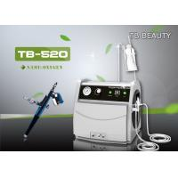 China Portable Oxygen Jet Peel Machine For Facial Whitening / Oily Skin Reduction CE Approved on sale