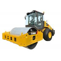 Hydraulic Single Drum Vibratory Roller / Sheepsfoot Roller 18000kg Weight Manufactures