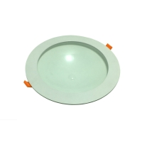China Daylight White 80lm/W 4W Round LED Ceiling Light Panel on sale