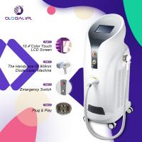 China 808nm Painless Diode Laser Hair Removal Machine IPL Principle For Home Use on sale