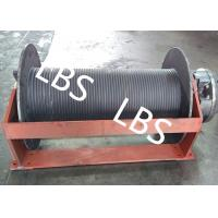 Groove Sleeve Hydraulic Crane Winch 3 MM - 190 MM Wire Diameter Manufactures