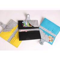 Multiple Color Felt Fabric Bags 10*19 Cm Customized Pattern And Logo Manufactures