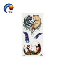 9*19CM Temporary 3D Tattoo Sticker with Factory Price Non-toxic Waterproof Tattoo Sticker Manufactures